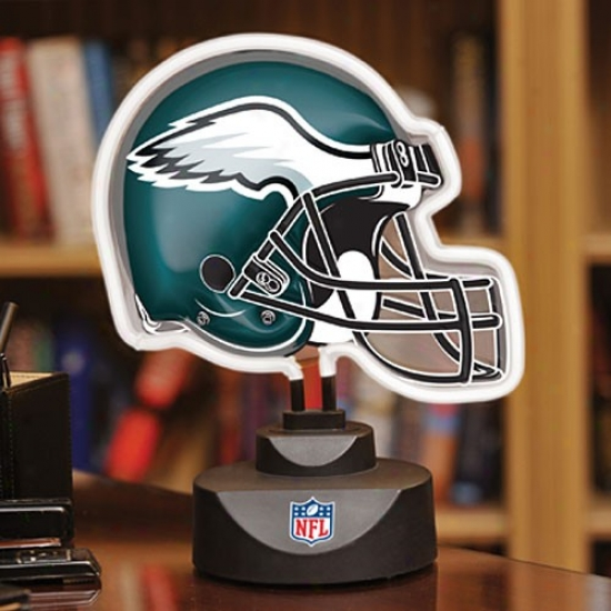 Philadelphia Eagles Neon Helmet Light