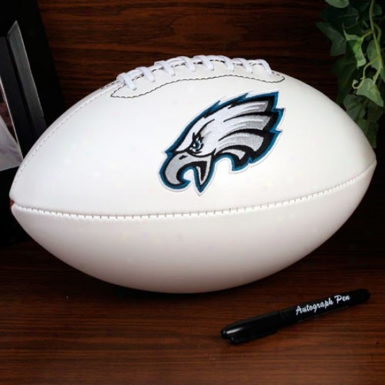Philadelphia Eagles Official Full Size Autograph Football