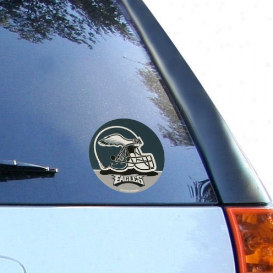 Philadelphia Eagles Round Vinyl Decal