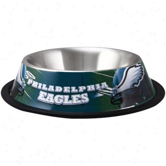 Philadelphia Eagles Stainless Steel Fondle Bowl