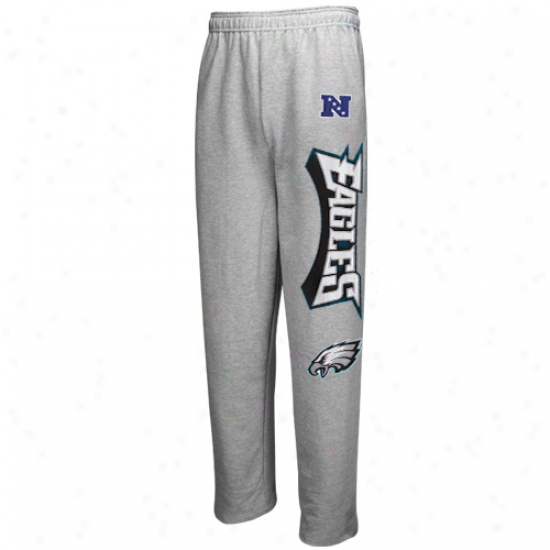 Philadelphia Eaglds Sweat Shirt : Philadelphia Eagles Ash Critical Victory Iv Sweatpants