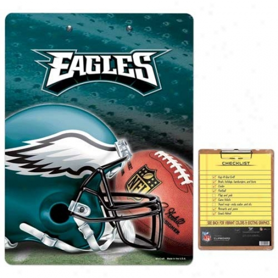 Philadelphia Eagles Team Logo Clipboard