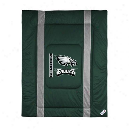 Philadelphia Eaglez Twin Size Sideline Comforter
