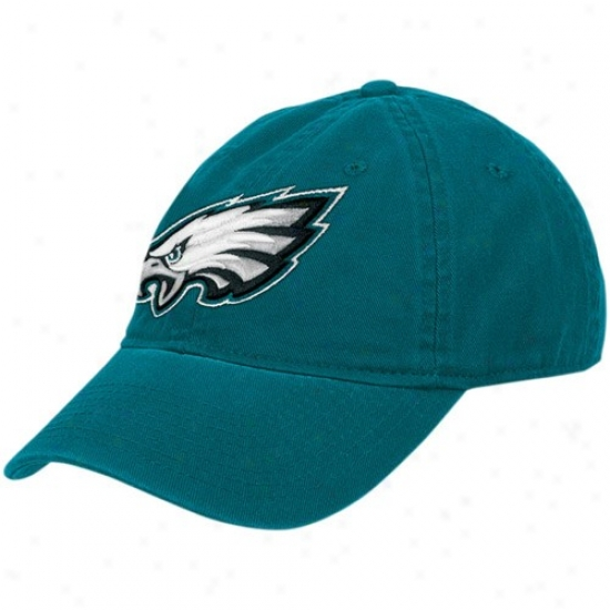 Philly Eagle Hats : Reebok Philly Eagle Green Ladies Basic Logo Hats