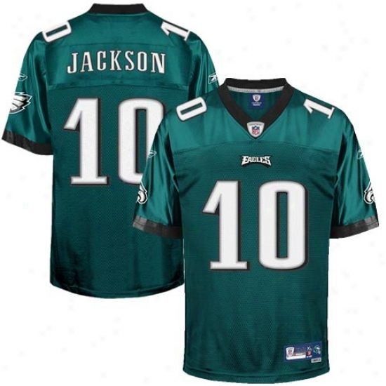 Philly Eagle Jerseys : Reebok Desean Jackson Philly Eagle Premiere Tackle Twill Jerseys - Green