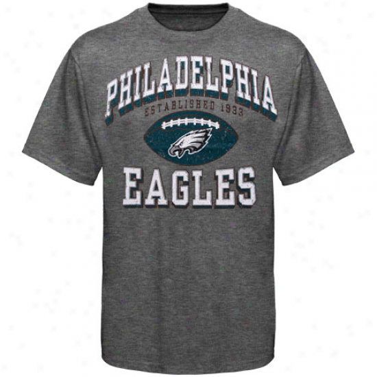 Philly Eagle Shirt : Philly Eagle Ash Regular Season Tri-blend Shirt