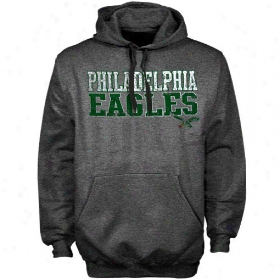Philly Eagle Sweatshirt : Philly Eagle Charcoal Legacy First And Goal Iii Sweatshirt