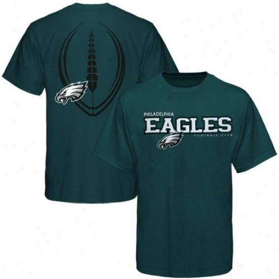 Philly Eagle Tee : Reebok Philly Eagle Green Ballistic Tee