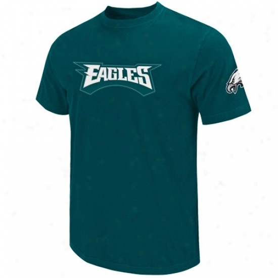 Pilly Eagle Tshirts : Philly Eagle Green Zone Blitz Embroidered Tshirts
