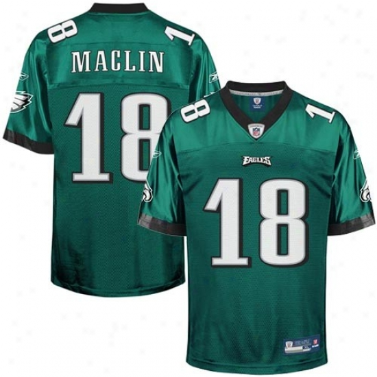 Philly Eagles Jersey : Reebok Jeremy Maclin Philly Eagles Replica Jersey - Green