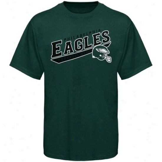 Philly Eagles Twes : Reebok Philly Eagles Preschool Green The Call Is Tails Tees