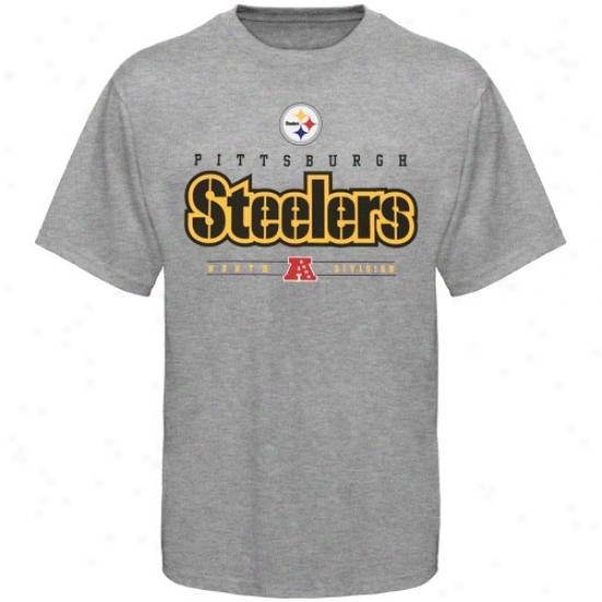 Pitt Steelers Tshitrs : Pitt Steelers Steel Gray Critical Victory Tshirts