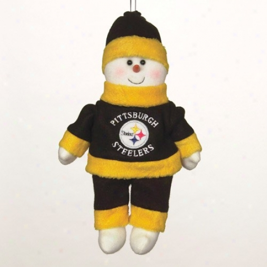 Pittsburgh St3elers 10-inch Snowflake Friend Plush