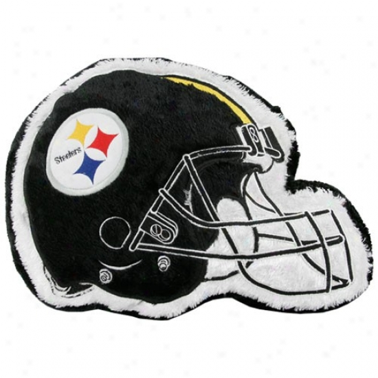 Pittsburgh Steelers 14'' Team Helm Plush Pillow
