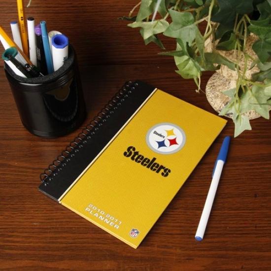 Pittsburgh Steelers 2010-11 5'' X 8'' Planner