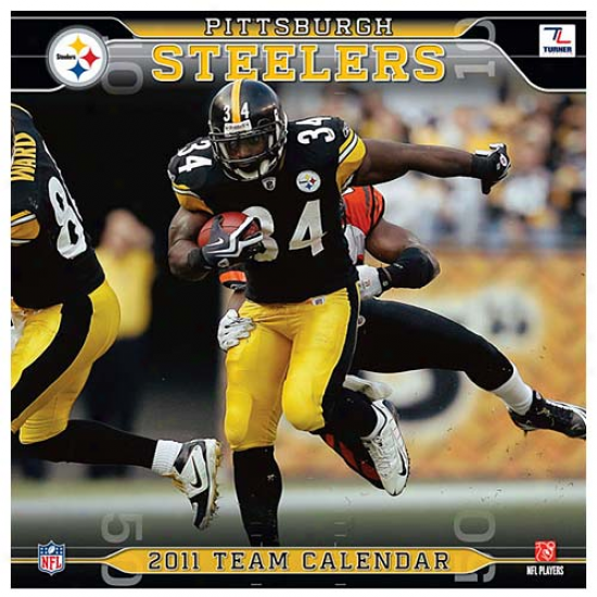 Pittsburgh Steelers 2011 Wall Calendar