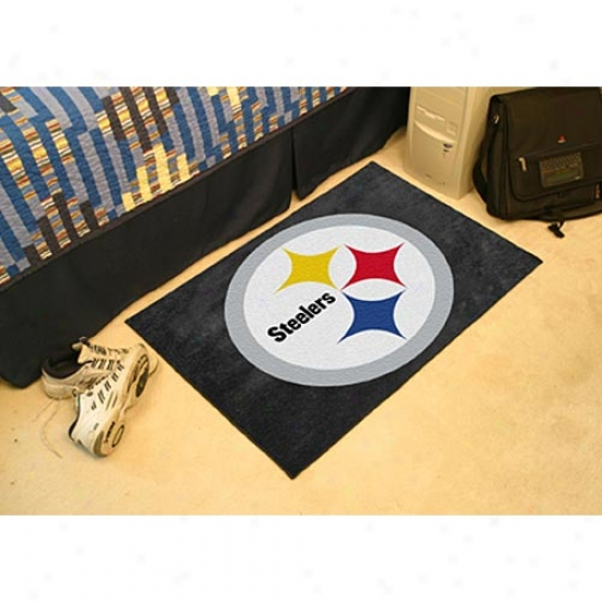 """pittsburgh Steelers 20""""x30"""" Starter Mat"""