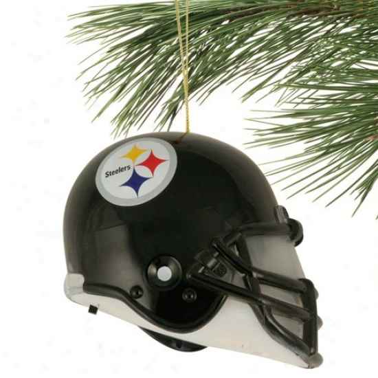 Pittsburgh Steelers 3'' Acrylic Light-up Footbal Helmet Ornament