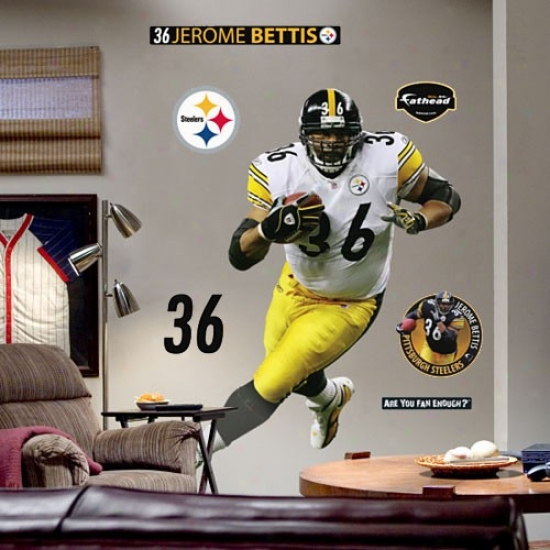Pittsburgh Steelers #36 Jerome Bettis Player Fathead