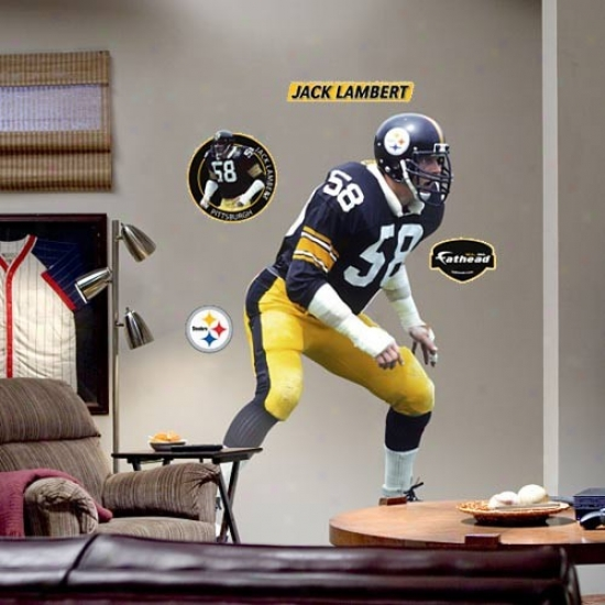 Pittsburgh Steelers #58 Jack Lambert Player Fathead
