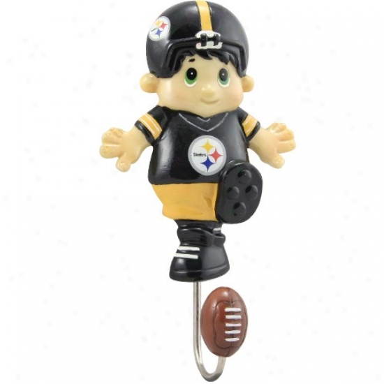 """pittsburgh Steelers 7"""" Mascot Wall Catch"""