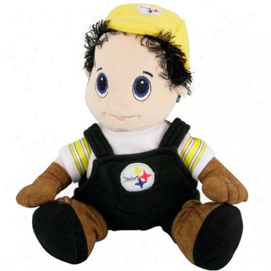 """pittsburgh Steelers ""9"" Plush Mascot"""