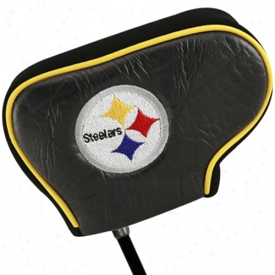 Pittsburgh Steelers Dark Blade Putter Cover
