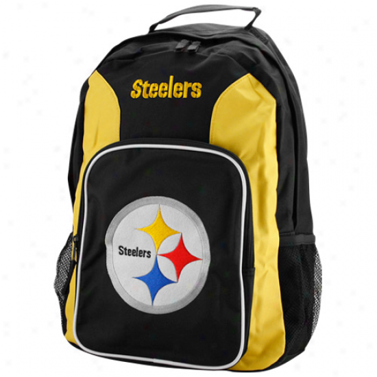 Pittsburgh Sttelers Black-gold Southpaw Backpack