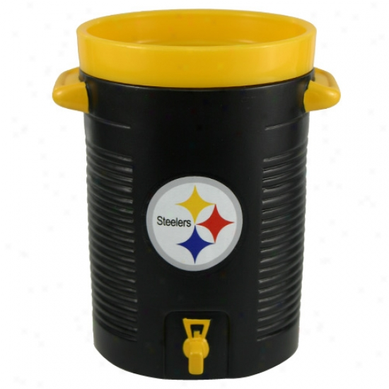 Pittsburgh Steelers Black Water Cooler Cup