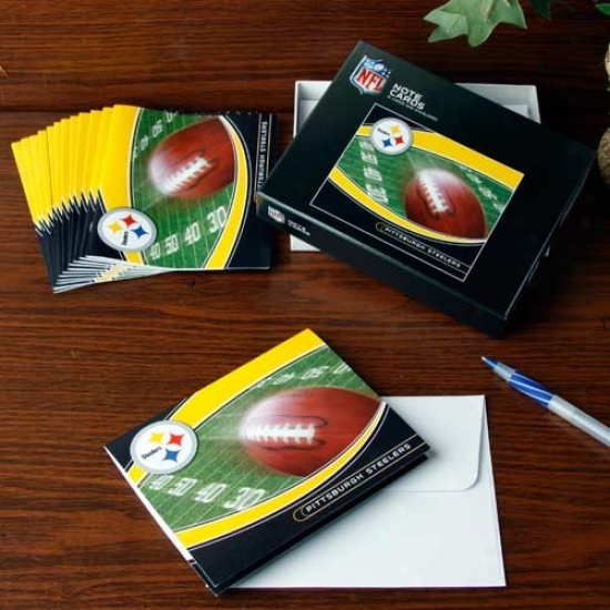 Pittsburgh Steelers Boxed Record Cards
