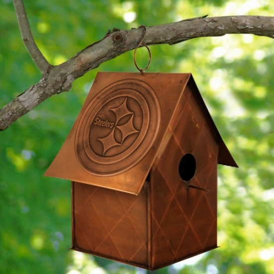 Pittsburgh Steelers Copper Bird House