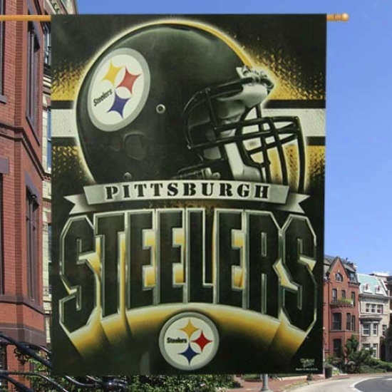 Pittsburgh Steelers Flags : Pittsburgh Steelers 27'' X 37'' Vertical Flags Flags