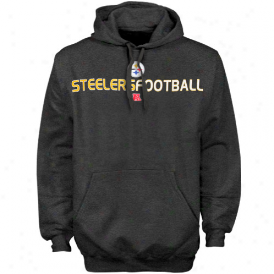 Pittsburgh Steelers Fleece : Pittsburgh Steelers Charcoal 1st And Goal Iii Fleece