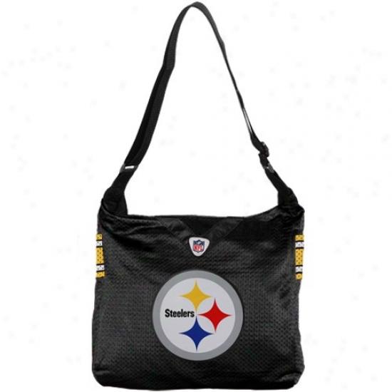Pittsburgh Steelers Ladkes Black Mvp Jersey Tote Bag