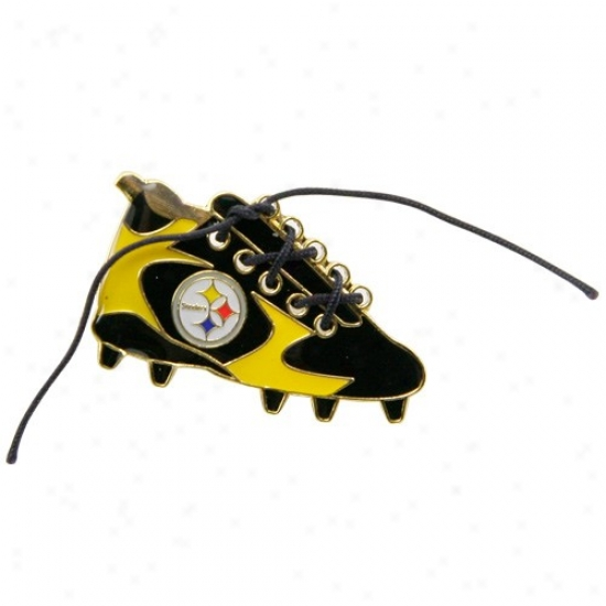 Pittsburgh Steelers Merchandise: Pittsburgh Steelers 1 1/4-inch Lace-up Cleat Pin