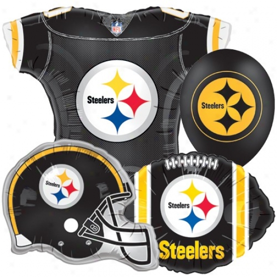 Pittsburgh Steelers Party Balloon Set