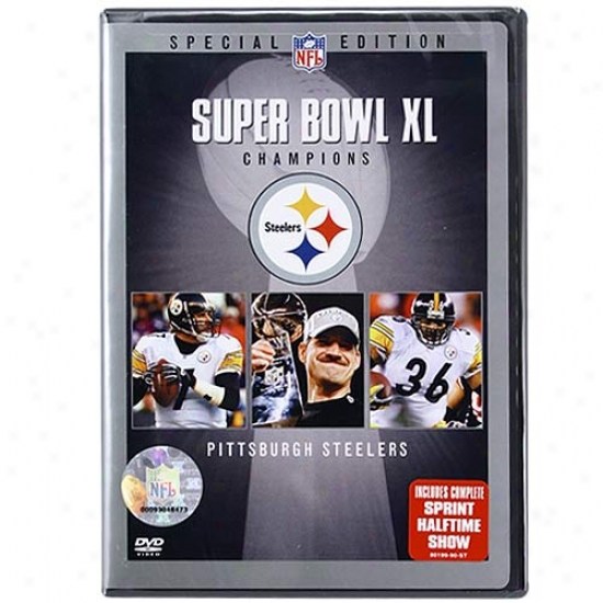 Pittsburgh Steelers Super Bowl Xl Champions Highlights Dvd