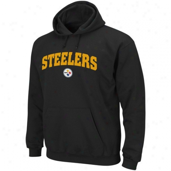 Pittsburgh Steelers Sweatshirts : Pittsburgh Steelers Black Classic Sweqtshirts Iii Pullover Sweatshirts