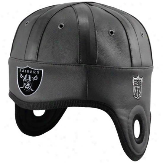 Raiders Hat : Raiders Black Helmet Head