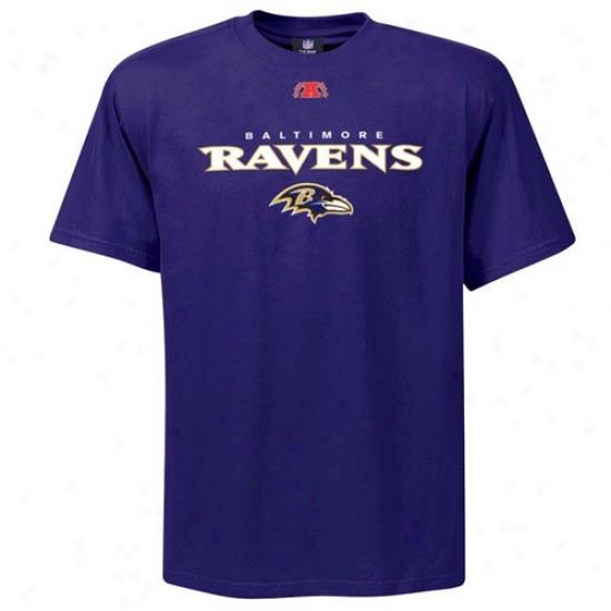 Ravens Tshirts : Ravens Purple Critical Victory Iii Tshirts