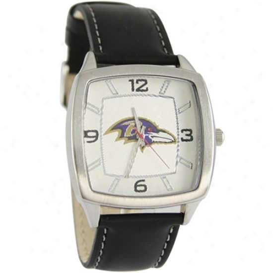 Ravens Watchex : Ravens Retro Watches W/ Leather Band