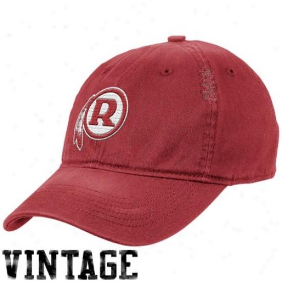 Redskin Caps : Reebok Redskin Burgundy Heat Flex Fit Vintage Caps
