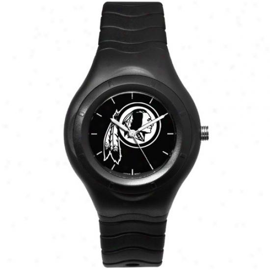 Redskin Watch : Redskin Black Shadow Team Logo Sport Watch