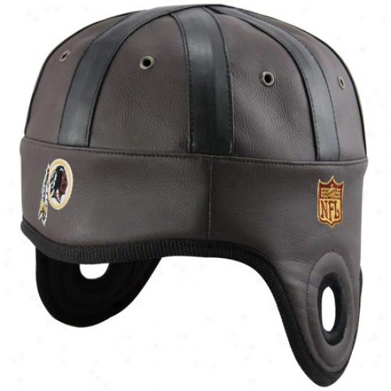 Redskins Gear: Redskins Brown Helmet Head