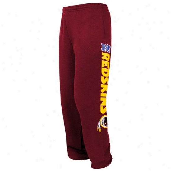 Redskins Hoodie : Redskins Burgundy Critical Victory Iv Sweatpants
