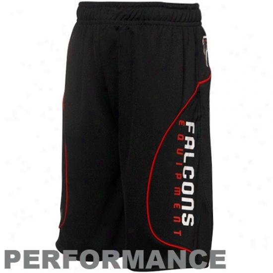 Reebok Atlanta Falcons Youth Black Performance Shorts