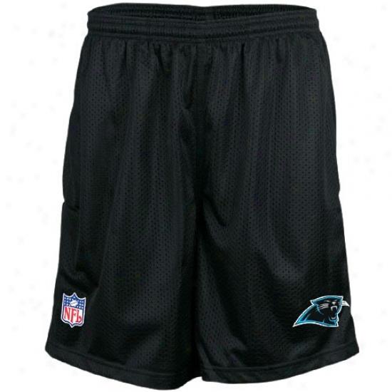 Reebok Carolina Panthers Mourning Coaches Mesh Shorts