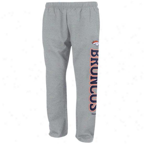 Reebok Denver Broncos Youth Ash Post Courageous Pants