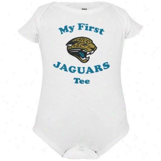 Reebok Jacksonville Jaguars Infant White My First Tee Creeper