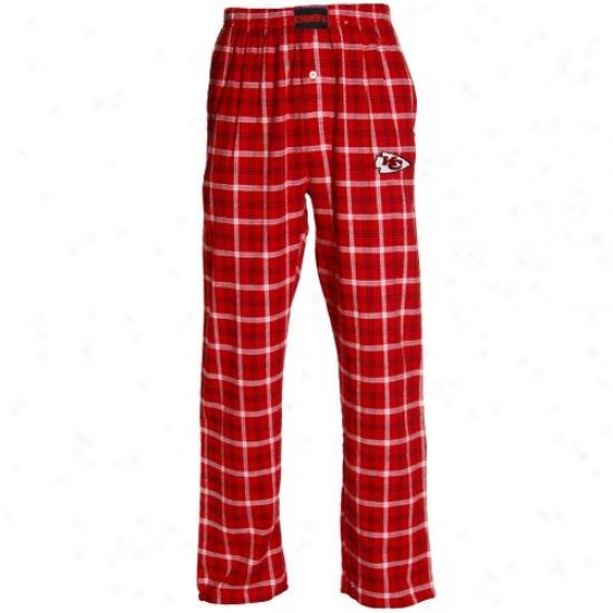 Reebok Kanas City Chiefs Red Tailgate Pajama Pants